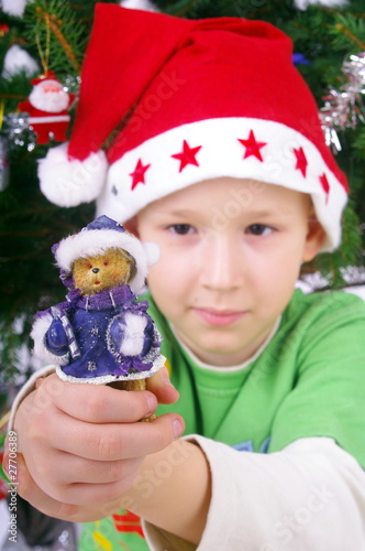Boy and Christmas figures nb.2