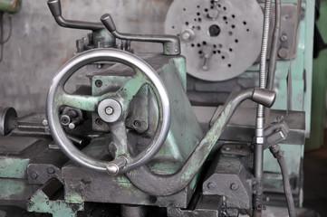The machine handle