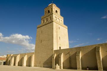 Große Moschee in Kairouan, Tunesien