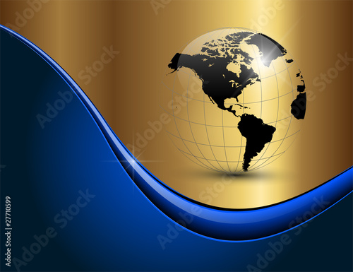 Blue Business Background Business Background Elegant