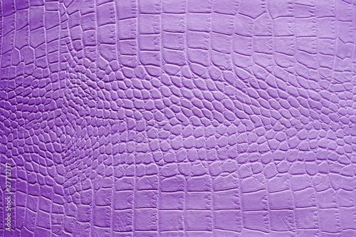 Fotobehang Leder Texture of crocodile leather in lilac