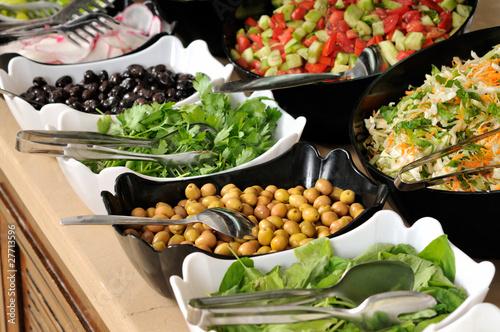 In de dag Buffet, Bar Buffet style food - a series of RESTAURANT images.
