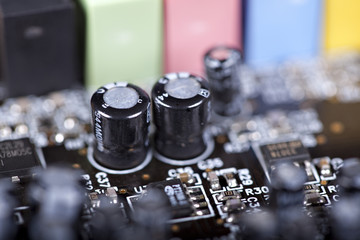 Detail of the printed circuit board