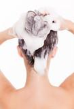 Fototapety haare waschen