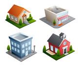Fototapety Building illustrations