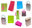 Collection of Holiday Gift Bags