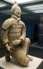 Kneeling Archer Statue