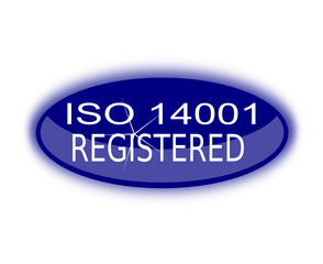 iso 14001 registered sign