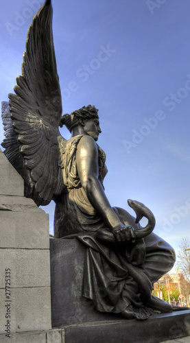 The O'Connell Monument 1882 - Dublin, Ireland (Irland)