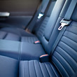 Modern car interior (shallow DOF - selective focus; color toned