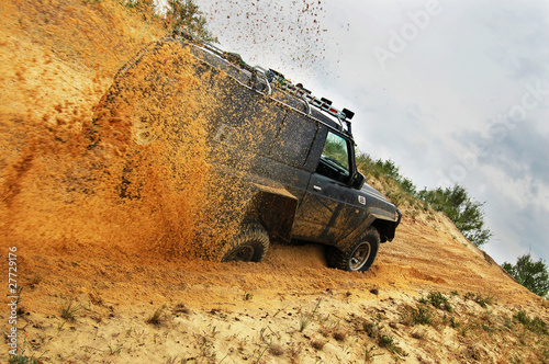 Canvas Water Motorsp. Off roading thrill