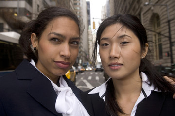 Multi-Ethnic Business Women