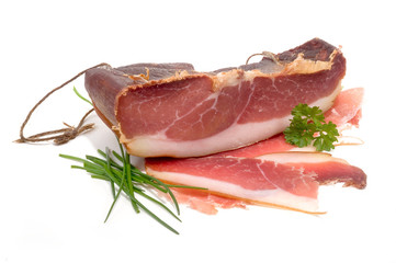 Geräucherter Schweineschinken