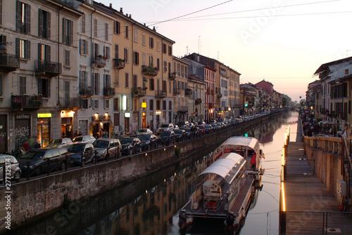 Quadro Milano Navigli, vendita online quadri e stampe d\'arredo su ...