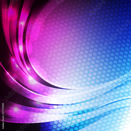 Abstract vector shiny background.