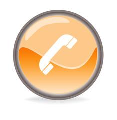 Simboli arancioni - Telefono