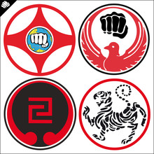 SIMBOL, karate kyokushin LOGO, Wado ryu, Goju ryu, Shotokan