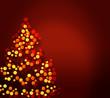 stylized Christmas tree illustration