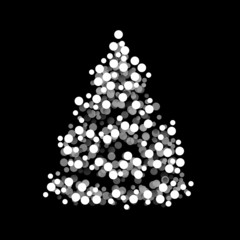 Graphic Christmas tree