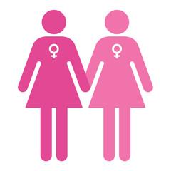 Love symbols - Women