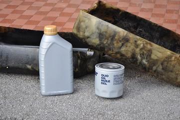 Cambio olio e filtro