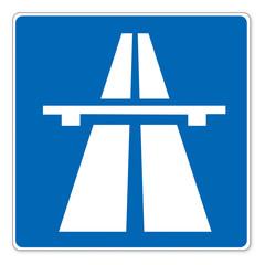 Schild (49) Autobahn
