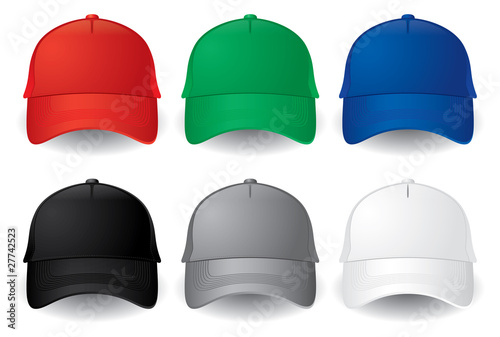 Vector baseball caps - 27742523