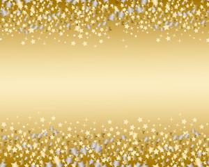 star background gold