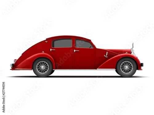 classic car  3d renderings