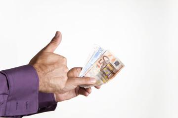 pagando con euros