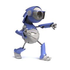 Robot karateka