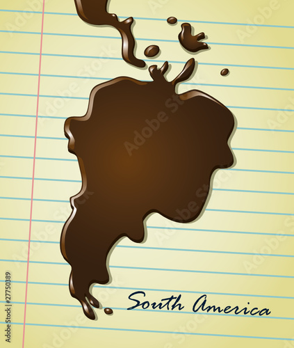 coffee stain south america