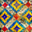 Quadro thai mosaic background