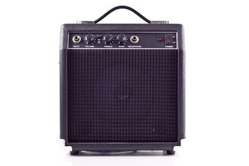 Electric Guitar Amplifier Front View