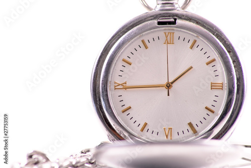Pocket Watch Face Details