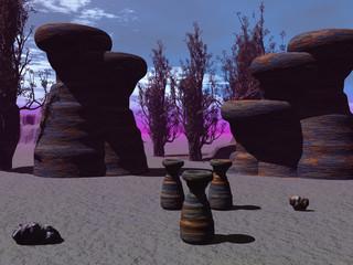 Formaciones marcianas