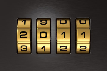 New Year 2011 code lock