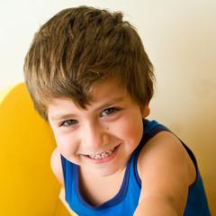 bambino sorridente