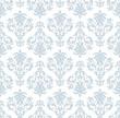 Seamless  wallpaper pattern in  vintage style