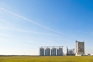 farm steel silos