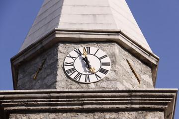 Kirchturm in Opatija in Kroatien