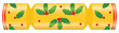 Christmas cracker decorated with holly