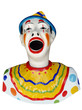 Carnival Feed the Clown Figure with path