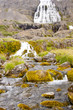 Dynjandi waterfall - western Iceland.