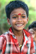 Happy Indian Boy Laughing Outside
