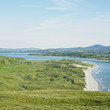 seascape with sand dunes, County Donegal, Ireland