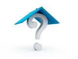 Question real estate concept