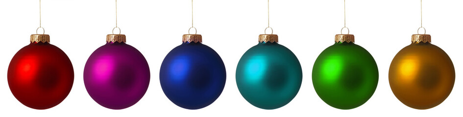 Set Christmas baubles