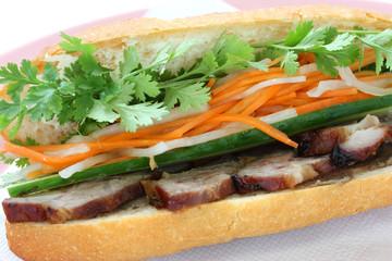 Banh Mi , Vietnamese Sandwich