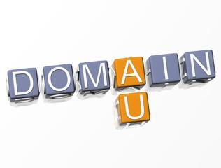 Australia Domain Crossword